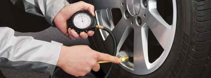 Controllo pressione delle gomme