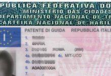 conversione patente brasiliana