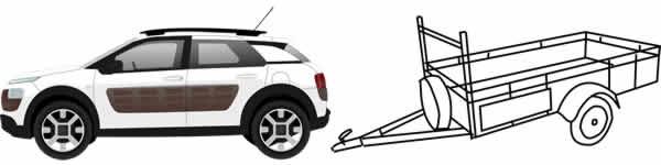 Patente B96 cosa posso guidare autovettura rimorchio