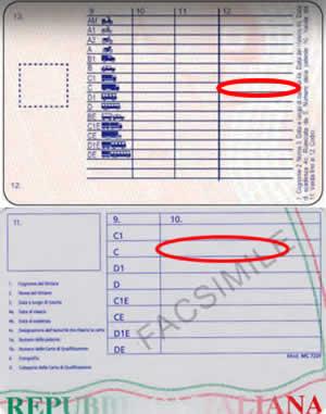 Rinnovo patente C scadenza CQC